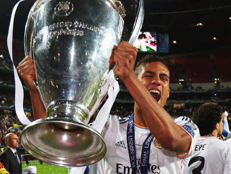 Real Madrid and Manchester United are in negotiations for Raphael Varane