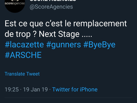 Is Lacazette's agent hinting at a possible exit?