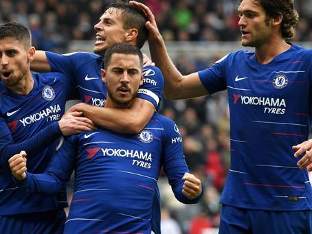 Newcastle 1-2 Chelsea