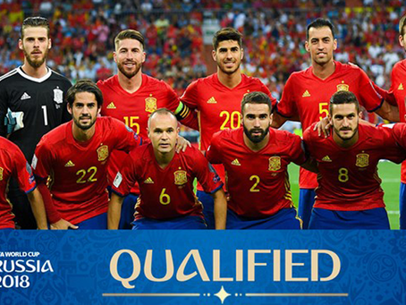 Spain World Cup Preview 2018