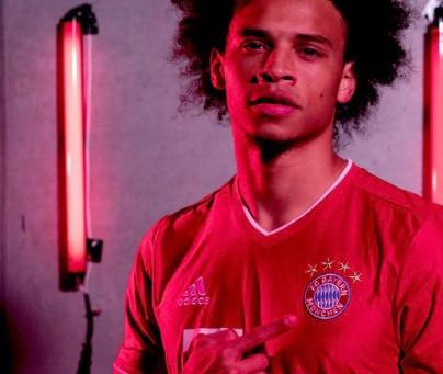 Leroy Sane joins FC Bayern Munich