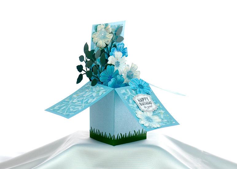 Happy Birthday Lettuce Card | ARZU ZIEGLER | Full Card Popped up | NZ | Wellington