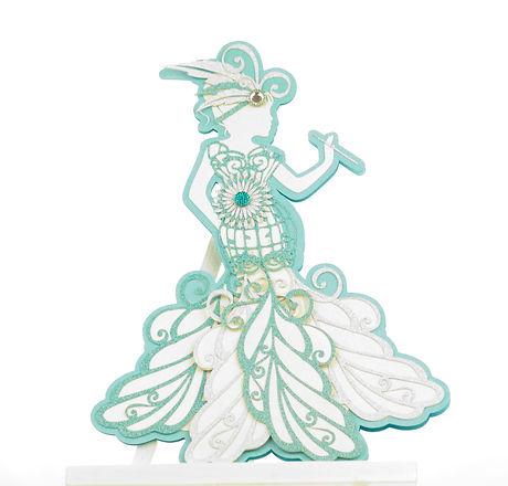 Handmade Lady Card
