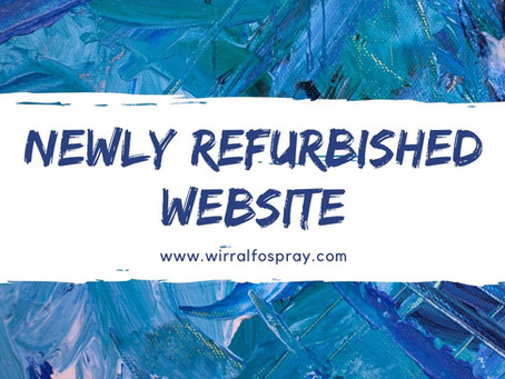 Welcome to our newly refurbished website!