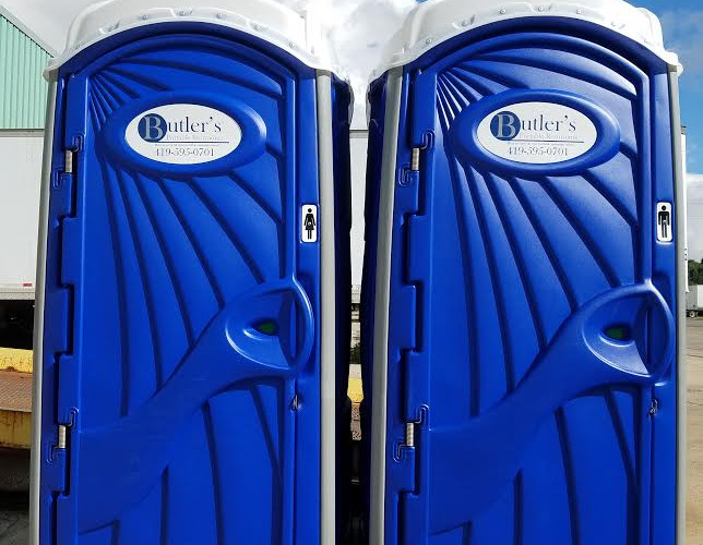 Deluxe Porta Potty For Rent