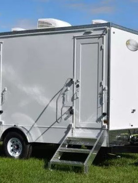 The Luxury Restroom Trailer