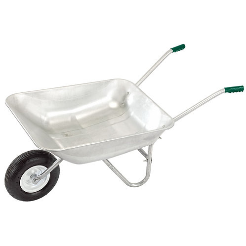 65L Galvanised Wheelbarrow