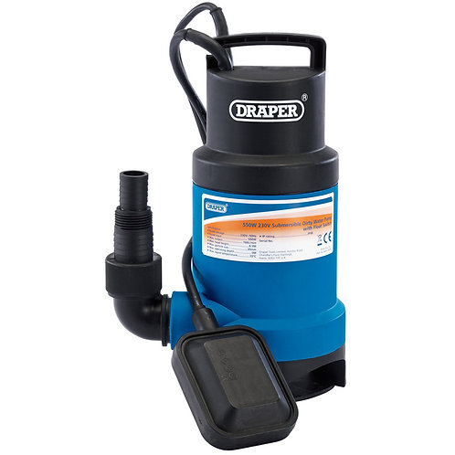 166L/Min Submersible Dirty Water Pump with Float Switch