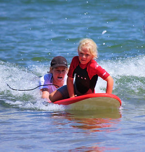 private surf lessons central coast