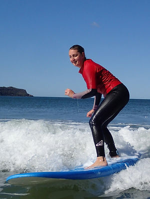 ladies surf lesons central coast
