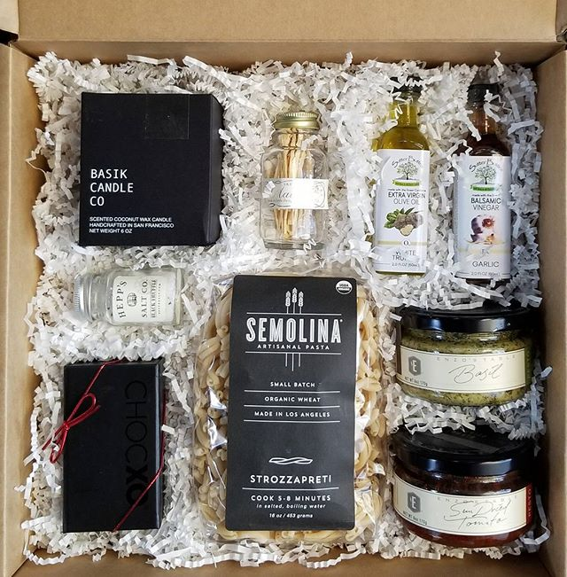 Gourmet foodie pasta gift box_#holidaygifts #supportlocal #california #bestofthebest #clientgifts