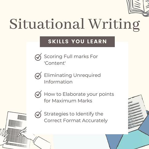 Situational Writing Skills