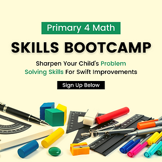Primary 4 Math Bootcamp