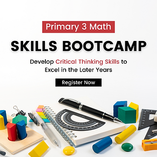 Primary 3 Math Bootcamp