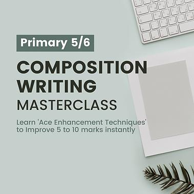 PSLE Writing Masterclass
