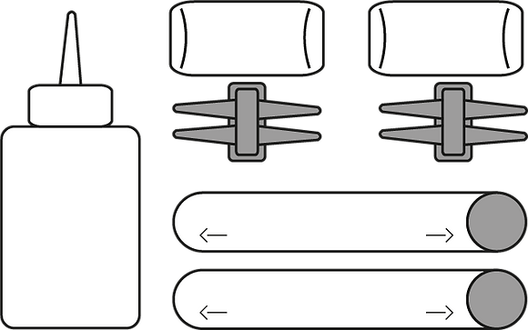 Lichtschlauch-Set LED Proline