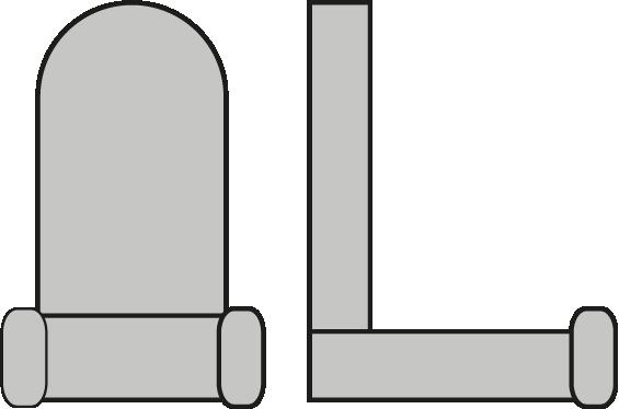 Lichtschlauch-Clip/Halterung