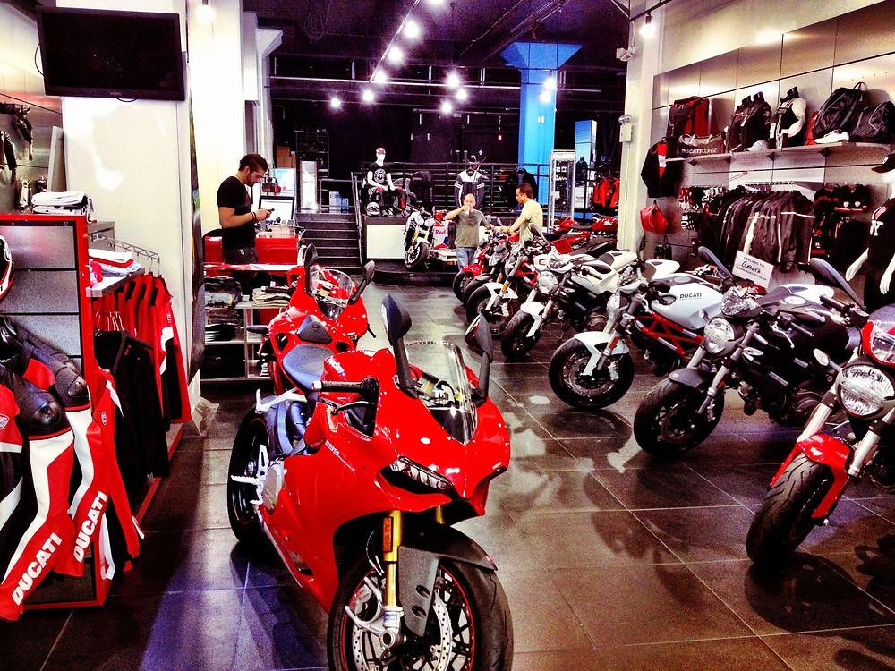 Ducati New York - SoHo - Manhattan by Teco + Partners
