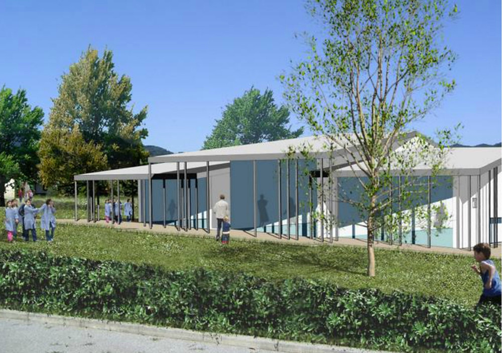 Educationa Complex, Barberino del Mugello, Italy