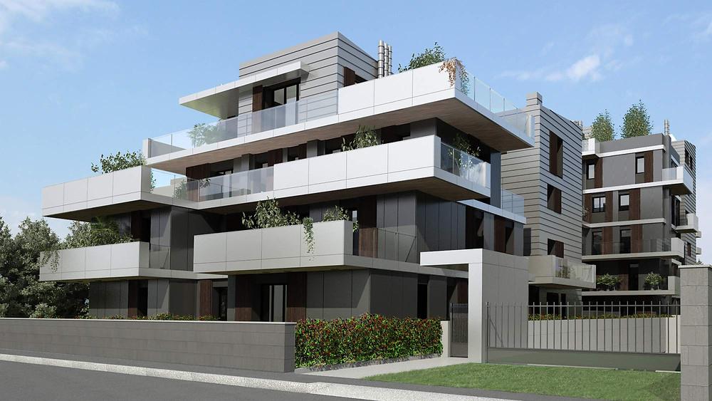 Residential building Molino Pariso Bologna Teco+partners