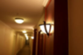 It is interior of hotel at night.jpg