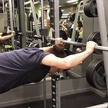 My Client doing an unusual tricep exerci