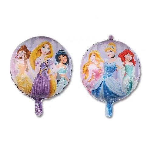 18 inches Three Disney Princess Foil Balloon