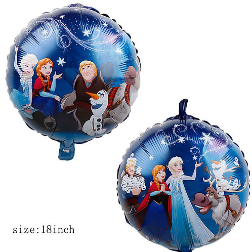 18 inches Disney Movie Frozen Double Side Foil Balloon