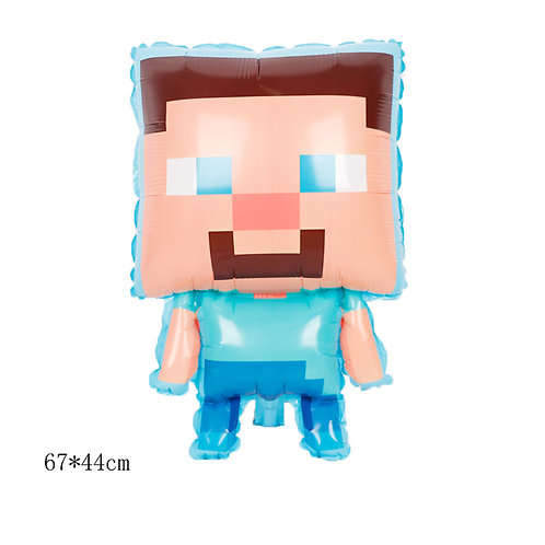 67*44cm Minecraft Character Foil Balloon