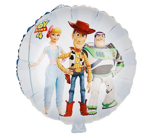 45*45cm Toy Story White Round Foil Balloon