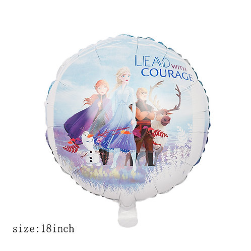 18 inches Disney Movie Frozen Foil Balloon