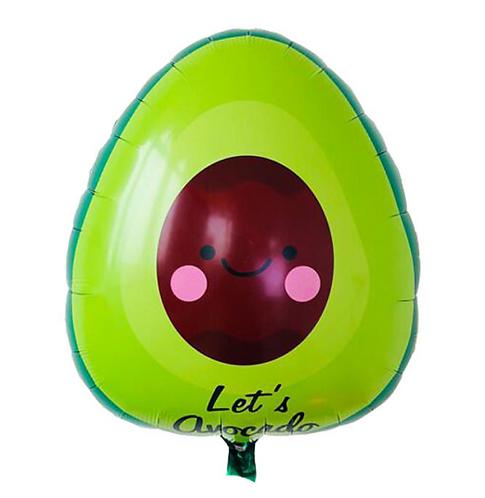 60*59cm Avocado Shaped Foil Balloon
