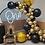 Thumbnail: Black Gold Star Themed Party Balloon Combination