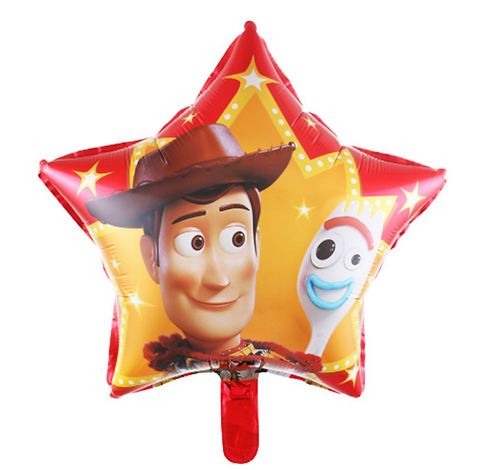 45*45cm Toy Story Woody Triangle Foil Balloon
