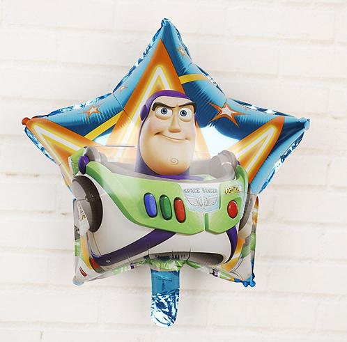 45*45cm Toy Story Buzz Lightyear Triangle Foil Balloon