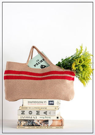 cooperativestudio XL crochet bag