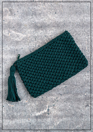 cooperative studio cotton clutch 2