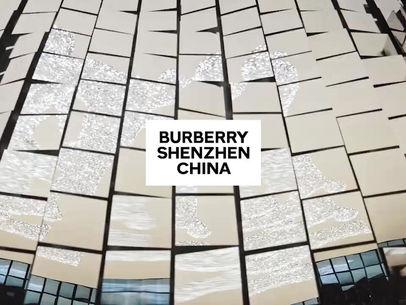 """Burberry inaugura sua primeira loja de """"social retail"""" na China"""