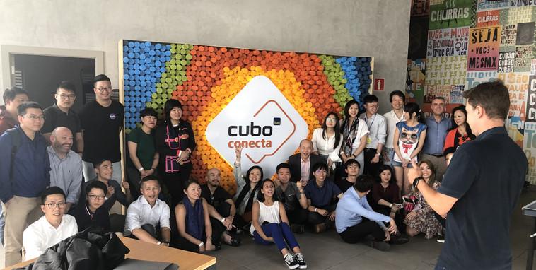 Visitantes do Cubo