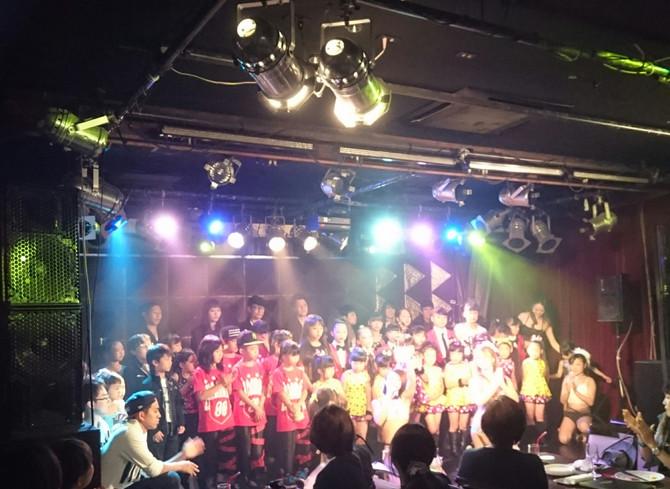 じゃぱら!! Vol.2 キッズダンサーコラボ・イベント @BERONICA