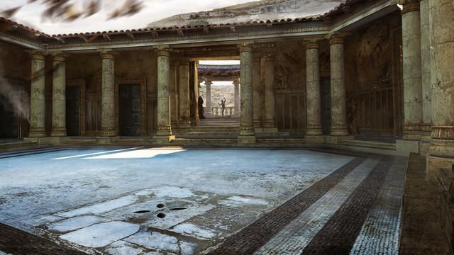 Ben Hur, Roman Peristyle