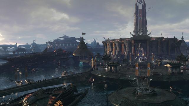 Nightfall, Military Complex