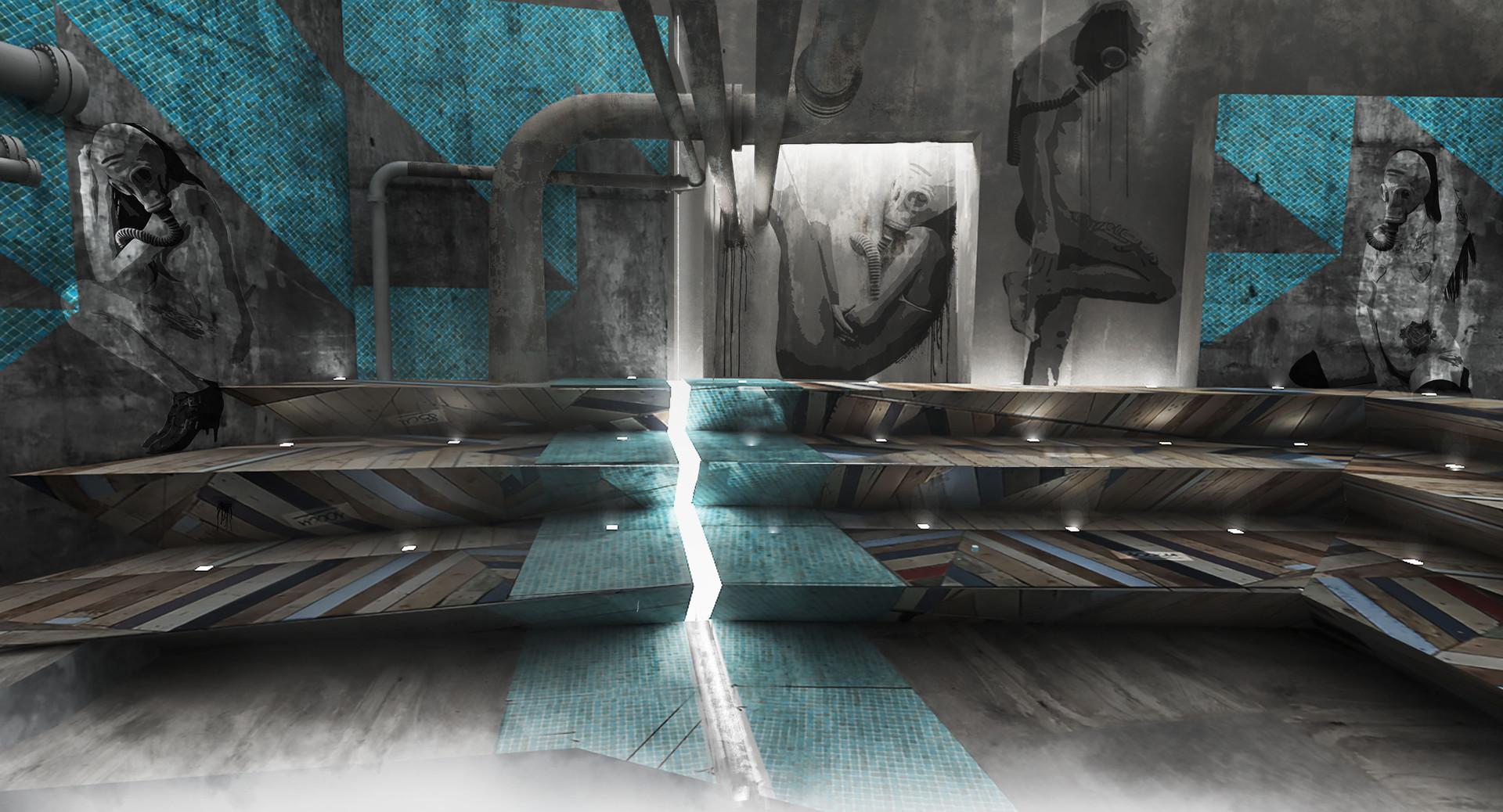 Zoolander 2, Steam Room