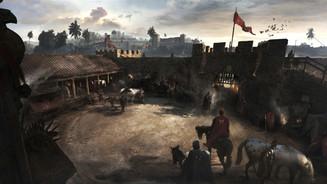 Risen, Roman Fort