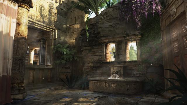 Ben Hur, Roman Garden