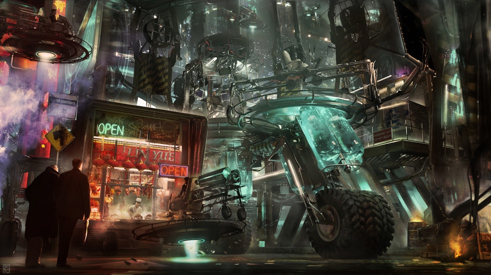 Service Station 2, Personal Work