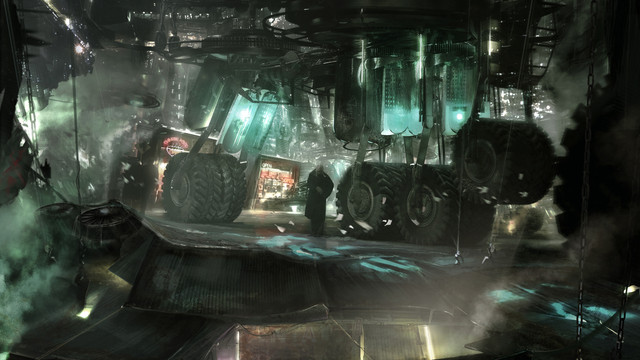 Service Station, Personal work