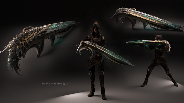Umakala, Light Side Guns, Heavy Machine Gun