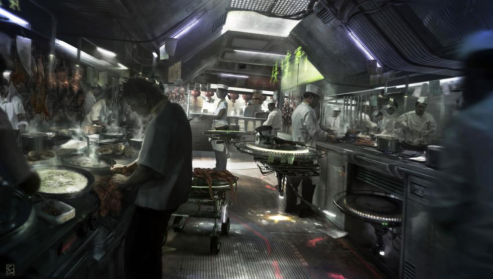 Kitchen, Personal Work