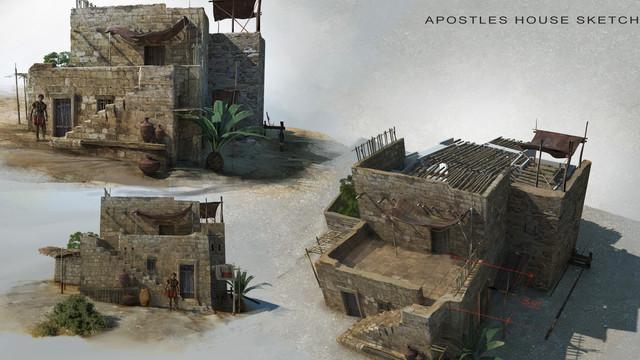 Risen, Apostle's house